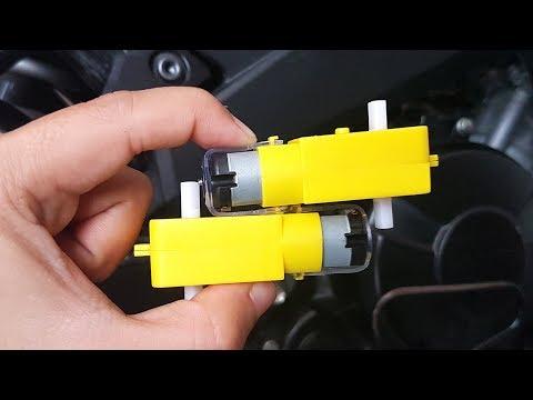 2 Ideas Impresionante con Motor de Corriente Continua