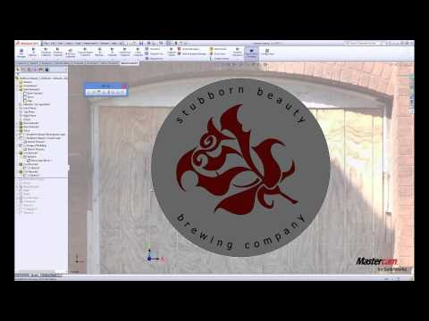 Sign Making and Mastercam for SolidWorks