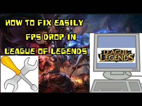 How to Fix FPS drop in any game like league of legends (no any software)