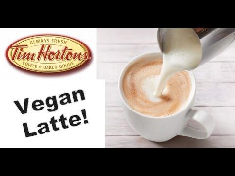 Vegan Latte at Tim Horton's!