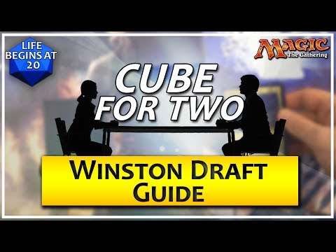 Cube For Two: Winston Draft Guide - A Two Player MTG Draft Format