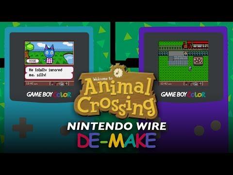 Animal Crossing | Game Boy Color De-make