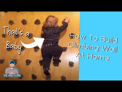 How To Build Climbing Wall at Home very simply
