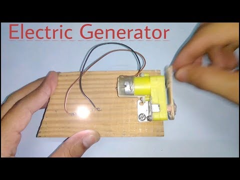 How to make an Electric Generator (IN HINDI)- Easy Science Project!