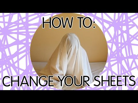 HOW TO: CHANGE YOUR SHEETS