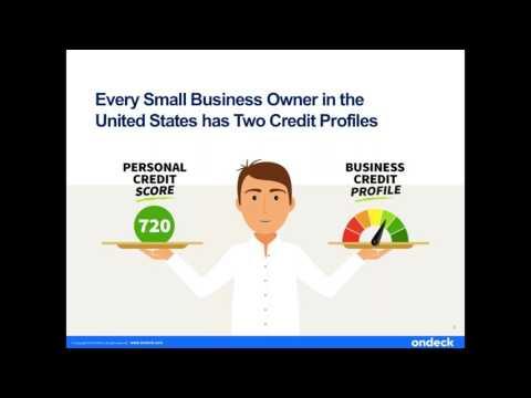 Understanding Business Credit | Webinar | OnDeck