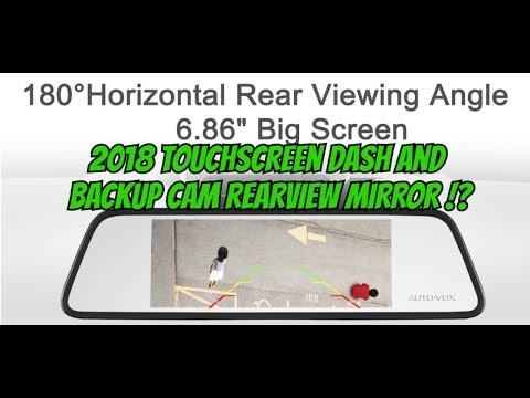 2 Best Dash Camera and Backup Cam DVR car mirror systems