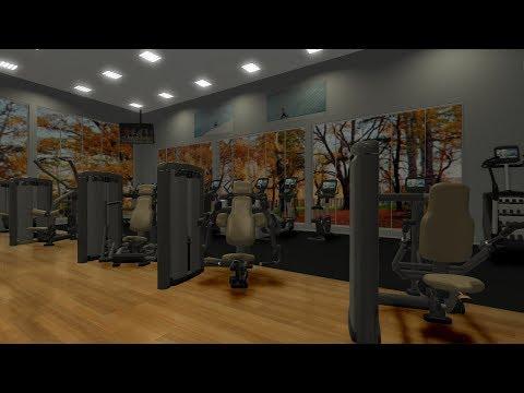 Ecdesign 4.6 gym design and fitness floor plan software