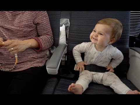 Flying with a 10 month old. Singapore - Toronto