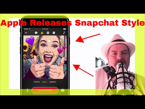 Apple Releasing New Snapchat Style App, New iPad, iPhone SE, AWatchBracelets