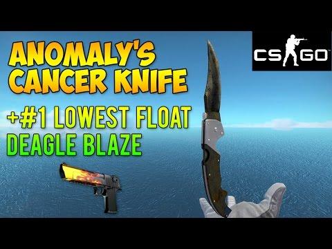 CS GO Skins - Worst Knife Ever + #1 Float Deagle Blaze! (McSkillet Inventory Update)