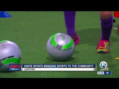 Ignite Sports teaching youth