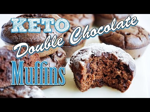 Keto Chocolate Muffins Recipe Video   Simple and Easy Keto Muffins   Low Carb