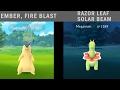 Caught In The Wild Typhlosion Meganium Rare Catch Pokemon Go Gen 2