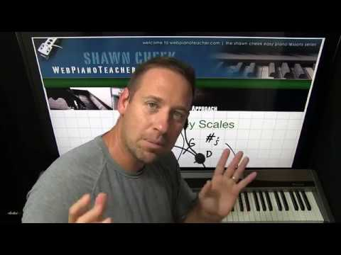 How To Play The Black Key Scales Piano Lesson