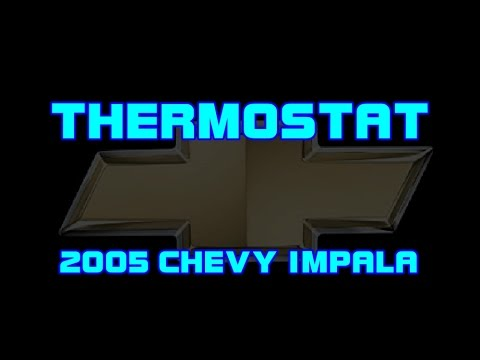 ⭐ 2005 Chevy Impala - 3.8 - Replacing The Thermostat To Fix A P0128