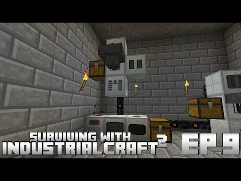 Surviving With IndustrialCraft 2 :: Ep.9 - Producing Uranium Fuel Rods