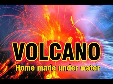Underwater Volcano Experiment Made At Home