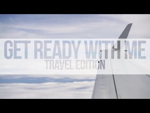 Get Ready With Me | My Travel Routine 2017 | Charleston, SC
