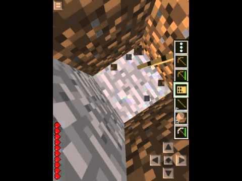 Minecraft PE part:3 gettin my lovely iron ingot
