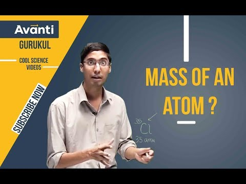 Atomic & Molecular Mass | Some basic concepts of chemistry | Chemistry | IIT JEE | Class 11 | C1.1.2