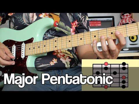 LESSON Major Pentatonic Scale | all 5 positions