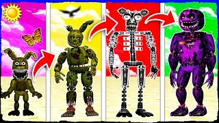Minecraft - The LIFE STORY of SPRINGTRAP!