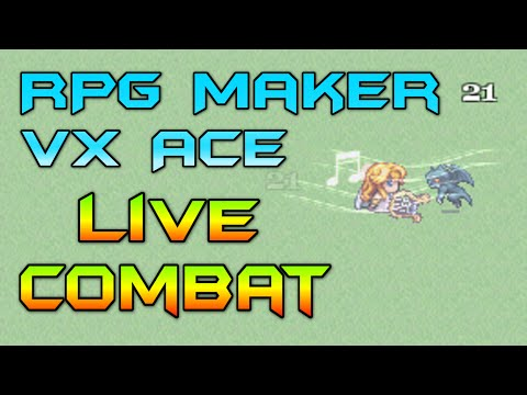 RPGMVXA - How To: Live Combat in RPG Maker VX Ace - Viewer Asked
