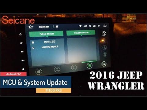 Seicane - MCU and System update - MTCD PX3 - PakVim net HD