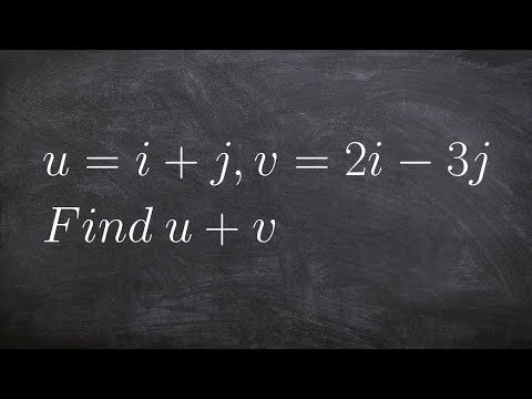 Finding the resultant vector of the sum of two vectors