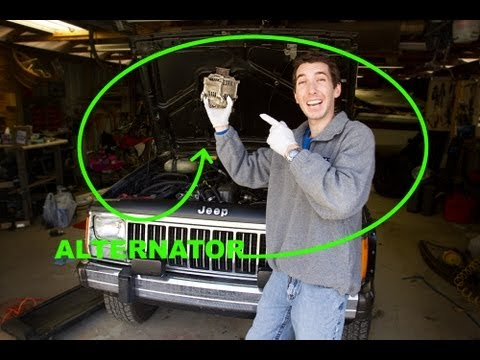 How to Change an Alternator - Jeep 4.0L Straight 6