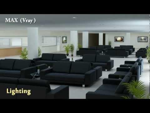 Modeling, Texturing & lighting Showreel by Jagadish.avi