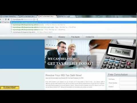 Basic Wordpress Tutorial, How to add image gallery, change content, change URL