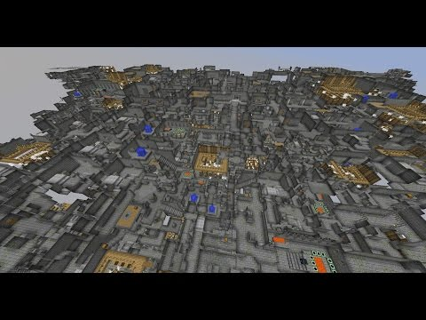 MINECRAFT'S LARGEST STRONGHOLD (Seed in Description)