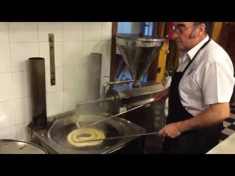 A Churrero Making Authentic Spanish Churros | Devour Seville