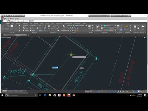 drawing lines perpendicular autocad - drawing lines perpendicular to an object