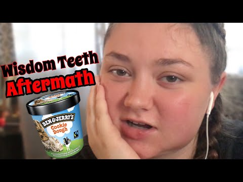 Wisdom Teeth Removal AFTERMATH || what I ate, holes in my mouth