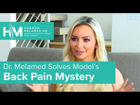 How to Prevent Back and Neck Pain Dr Hooman Melamed on The Doctors TV