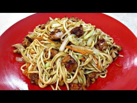 Chicken Chow Mein - Chinese Restaurant Cooking Secrets - PoorMansGourmet