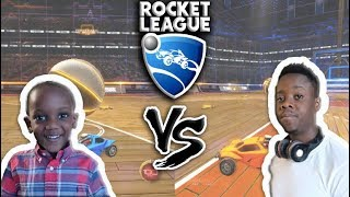 First Time Playing Rocket League