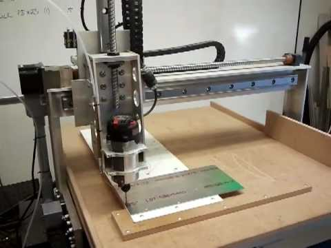 CNC Router - Hold down holes in aluminum plate