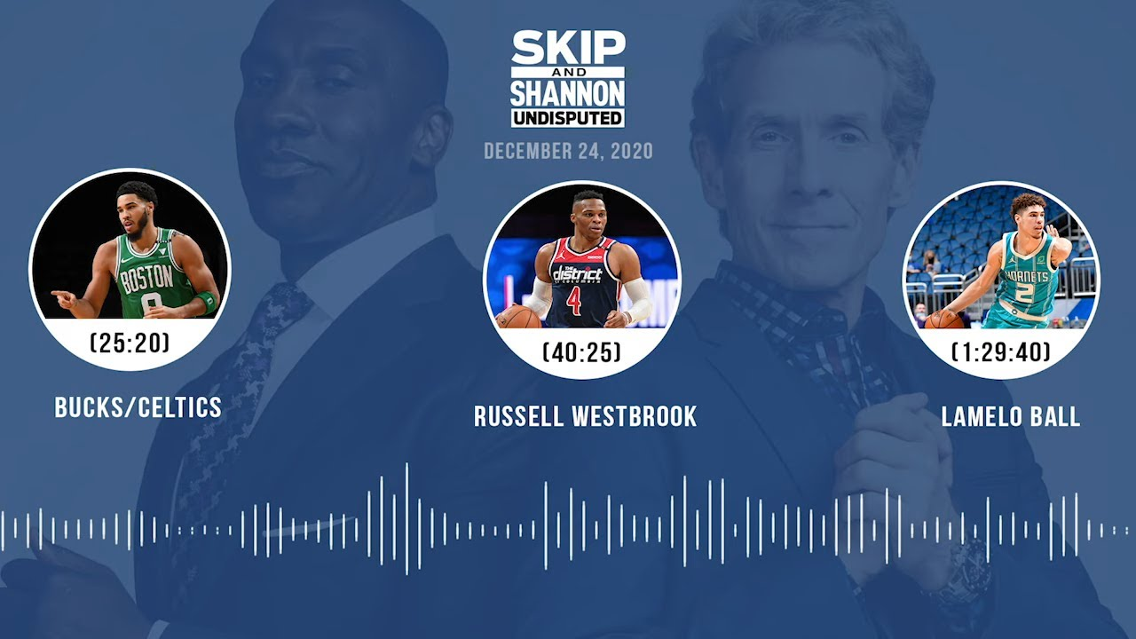 Bucks/Celtics, Russell Westbrook, LaMelo Ball (12.24.20) | UNDISPUTED Audio Podcast