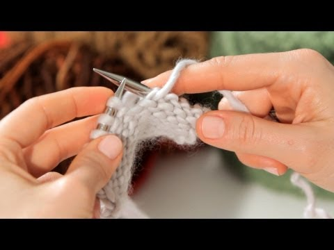 How to Do a Purl Stitch | Knitting
