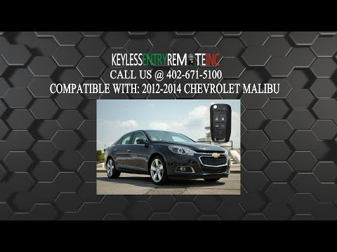 How To Replace Chevrolet Malibu Key Fob Battery 2012 2013 2014