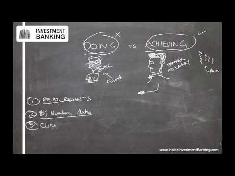6 Investment Banking Internship Resume Tips