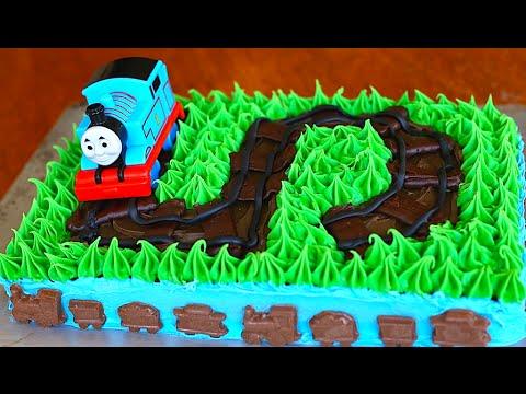 Thomas The Train Cake Tutorial