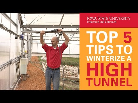 Top 5 Tips to Winterize a High Tunnel