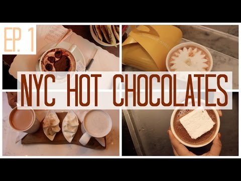 4 of the BEST Hot Chocolates in NYC | Ellie's Eats [Ep.1]