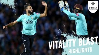 Catches Win Matches Surrey V Sussex Sharks Vitality Blast Highlights