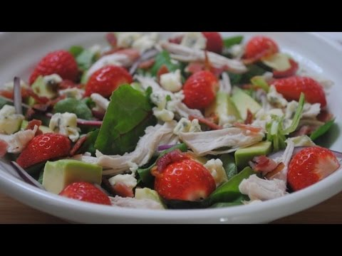 STRAWBERRY CHICKEN SALAD - Student Recipes